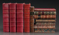 Fine Art - Work on Paper, LEATHER BINDINGS: TWELVE VOLUMES OF WATERLOO, WELLINGTON, ANDWARFARE. Various authors, publishers, and editions. Late 19th/...(Total: 12 Items)