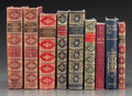 Fine Art - Work on Paper, LEATHER BINDINGS: NINE VOLUMES ON ADMIRAL NELSON. Various authors,publishers, and editions. Late 19th/early 20th century. N...(Total: 9 Items)