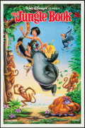 "Movie Posters:Animation, The Jungle Book and Other Lot (Buena Vista, R-1990). One Sheets (2)(27"" X 41 & 40""). DS. Animation.. ... (Total: 2 Items)"