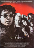 "Movie Posters:Horror, The Lost Boys (Warner Brothers, 1987). German A1 (23"" X 33""). Horror.. ..."