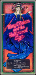 "Movie Posters, Mary C. Brown and the Hollywood Sign (Anthony Goldschmidt, 1972). Theatrical poster Autographed by John Alvin (14.75"" X 31"")..."