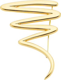 Paloma Picasso for Tiffany & Co. Gold Brooch