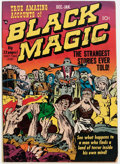Golden Age (1938-1955):Horror, Black Magic #2 (Prize, 1950) Condition: GD/VG....