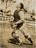 Autographs:Photos, Early 1930's Mickey Cochrane Signed Photograph to Tony Lazzeri....