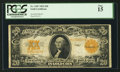 Large Size:Gold Certificates, Fr. 1187 $20 1922 Gold Certificate PCGS Fine 15.. ...
