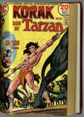 Bronze Age (1970-1979):Miscellaneous, Korak, Son of Tarzan #46-59 Bound Volume (DC, 1972-75)....