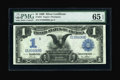 Large Size:Silver Certificates, Fr. 231 $1 1899 Silver Certificate PMG Gem Uncirculated 65 EPQ....