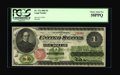 Fr. 17a $1 1862 Legal Tender PCGS Choice About New 58PPQ