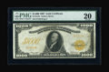 Large Size:Gold Certificates, Fr. 1219e $1000 1907 Gold Certificate PMG Very Fine 20....