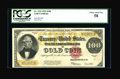 Large Size:Gold Certificates, Fr. 1215 $100 1922 Gold Certificate PCGS Choice About New 58....