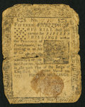 Colonial Notes:Pennsylvania, Pennsylvania March 10, 1757 15s Inverted Back Very Good.. ...