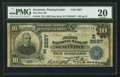 National Bank Notes:Pennsylvania, Scranton, PA - $10 1902 Date Back Fr. 616 The First NB Ch. #(E)2697. ...