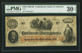Confederate Notes:1862 Issues, T41 $100 1862 PF-6 Cr. 319.. ...