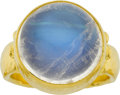 Estate Jewelry:Rings, Gurhan Moonstone, Gold Ring. ...