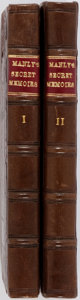 Books:Literature Pre-1900, Manley Delarivier. Secret Memoirs and Manners of Several Personsof Quality, of Both Sexes. Vol. I & II. London:... (Total:2 Items)