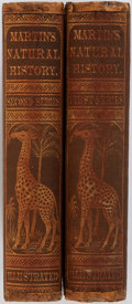 Books:Natural History Books & Prints, Sarah A. Myers [translator]. Martin's Natural History. First and Second Series. New York: Phinney, Blakeman & Ma... (Total: 2 Items)