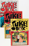 Golden Age (1938-1955):Non-Fiction, Juke Box Comics #1-5 Group (Famous Funnies, 1948-49) Condition:Average VG-.... (Total: 5 Comic Books)