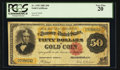 Large Size:Gold Certificates, Fr. 1193 $50 1882 Gold Certificate PCGS Very Fine 20.. ...
