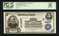 Collinsville, AL - $5 1902 Plain Back Fr. 606 The First NB Ch. # (S)11337