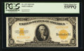 Large Size:Gold Certificates, Fr. 1173 $10 1922 Gold Certificate PCGS Choice About New 55PPQ.....
