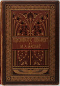 Books:Fine Press & Book Arts, [Illustration]. A. Racinet. Polychromatic Ornament. London:Henry Sotheran and Co., 1877. Publisher's binding. Profu...