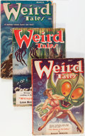 Pulps:Horror, Weird Tales Box Lot (Popular Fiction, 1943-53) Condition: AverageGD+....