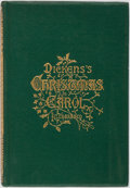 Books:Literature Pre-1900, Charles Dickens. A Christmas Carol. Boston: Fields, Osgood,1869. Octavo. 111 pages. Engraved frontis and plates. Pu...