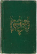 Books:Literature Pre-1900, Mrs. A. D. T. Whitney. Mother Goose for Grown Folks. Boston:Loring, 1870. Revised edition. Octavo. 143 pages. Illus...
