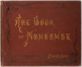Books:Literature Pre-1900, Edward Lear. The Book of Nonsense. London: Frederick Warneand Co., 1862. Contemporary binding. Bevelled boards. Gil...
