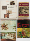 Books:Art & Architecture, [Brandywine]. Group of Four. Various publishers. Includes The Brandywine Tradition, The Brandywine Heritage, and others.... (Total: 4 Items)
