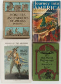 Books:Americana & American History, [Americana]. Group of Four. Various publishers. Includes titlesfocused on early American history, such as Journey Into Am...(Total: 4 Items)