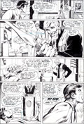 "Original Comic Art:Panel Pages, Neal Adams and Bernie Wrightson Green Lantern #84 ""Peril inPlastic"" Page 4 Original Art (DC, 1971)...."