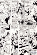 Original Comic Art:Panel Pages, John Byrne and Dan Green Iron Fist #14 Page 17 FirstSabretooth Story Original Art (Marvel, 1977)....