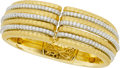 Estate Jewelry:Bracelets, Jack Kelége Diamond, Gold Bracelet. ...