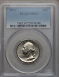 Washington Quarters, 1970 25C MS67 PCGS....