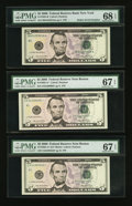 Small Size:Federal Reserve Notes, $5 2006 Federal Reserve Notes Five Examples PMG Graded.. ... (Total: 5 notes)