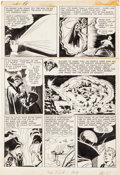 Original Comic Art:Panel Pages, Jack Kirby and Joe Simon Adventures of the Fly#1 Story Page5 Original Art (Archie, 1959)....