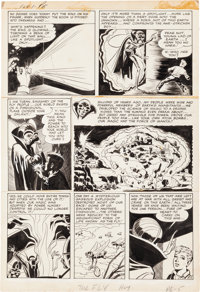 Jack Kirby and Joe Simon Adventures of the Fly#1 Story Page 5 Original Art (Archie, 1959)