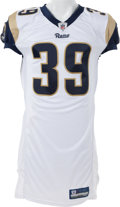 Football Collectibles:Uniforms, 2010 Steven Jackson Game Issued, Signed St. Louis Rams Jersey....