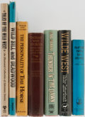 Books:Americana & American History, [American West]. Group of Seven. Various publishers. Someillustrated. Includes Buffalo Bill's Life Story, Wilde West,Ind... (Total: 7 Items)