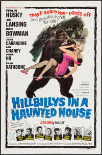 """Hillbillys in a Haunted House (Woolner Brothers, 1967). One Sheet (27"""" X 41"""") & Insert (14"""" X 36&..."""