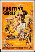 "Movie Posters:Exploitation, Five Loose Women (SCA, 1974). One Sheet (27"" X 41""). Exploitation.Alternate Title: Fugitive Girls.. ..."
