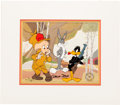 Animation Art:Limited Edition Cel, Chuck Jones Bugs, Daffy and Elmer Hunting Limited Edition Cel 30/200 (Warner Brothers/Linda Jones Enterprises, 198...