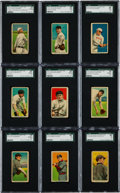 Baseball Cards:Lots, 1914 T213-2 Coupon Cigarettes SGC Graded Collection (54). ...