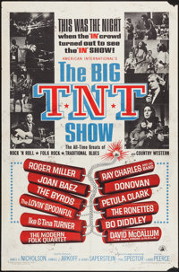 """The Big T.N.T. Show & Other Lot (American International, 1966). One Sheet (27"""" X 41""""). Rock and Roll..."""