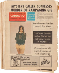 Overseas Weekly Newspaper Group featuring Wally Wood Comic Strips (1974-76) Condition: Average GD/VG.... (Total: 14 Item...