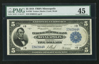Fr. 799 $5 1918 Federal Reserve Bank Note PMG Choice Extremely Fine 45