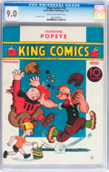 Platinum Age (1897-1937):Miscellaneous, King Comics #20 (David McKay Publications, 1937) CGC VF/NM 9.0Cream to off-white pages....