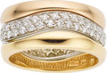 Estate Jewelry:Rings, Cartier Diamond, Gold Ring Set. ...
