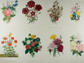 Books:Prints & Leaves, [Flowers]. Group of Eight Modern Color Prints. Measure 15.75 x11.75 inches. Near fine....